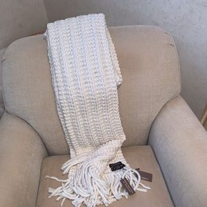 Coach Hand Knitted Scarf